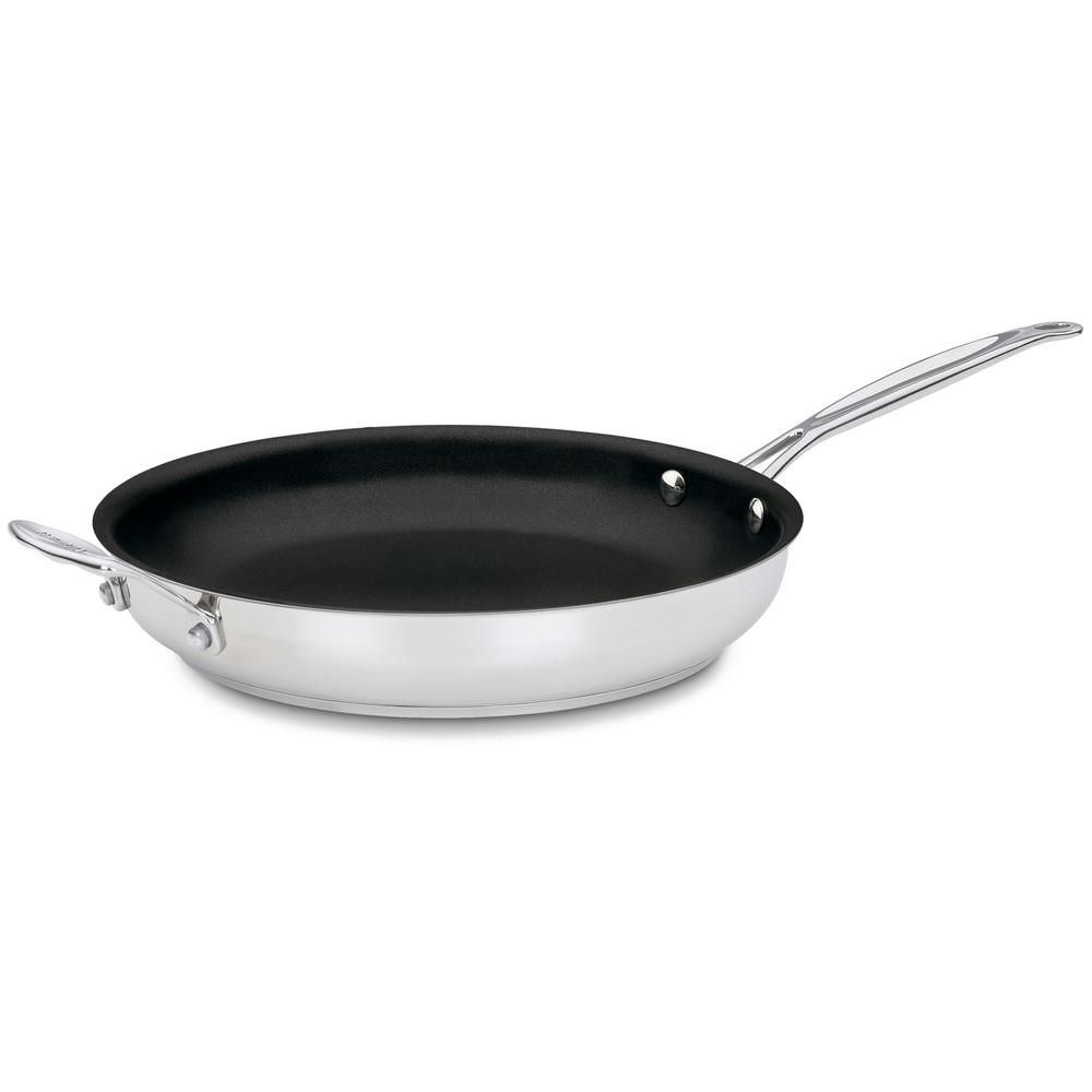 Chef's Classic Steel Skillet with Nonstick Coating