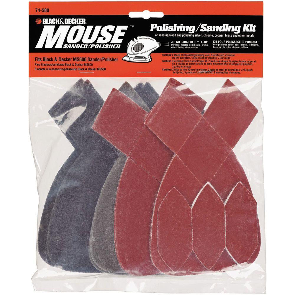 Mouse Sanding/Polishing Kit