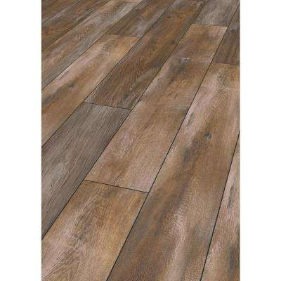 Take Home Sample -Vinebank Oak Laminate Flooring - 5 in. x 7 in.