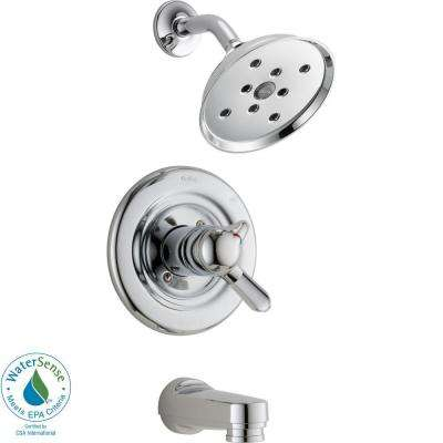 Innovations 1-Handle H2Okinetic Tub and Shower Faucet Trim Kit in Chrome (Valve Not Included)