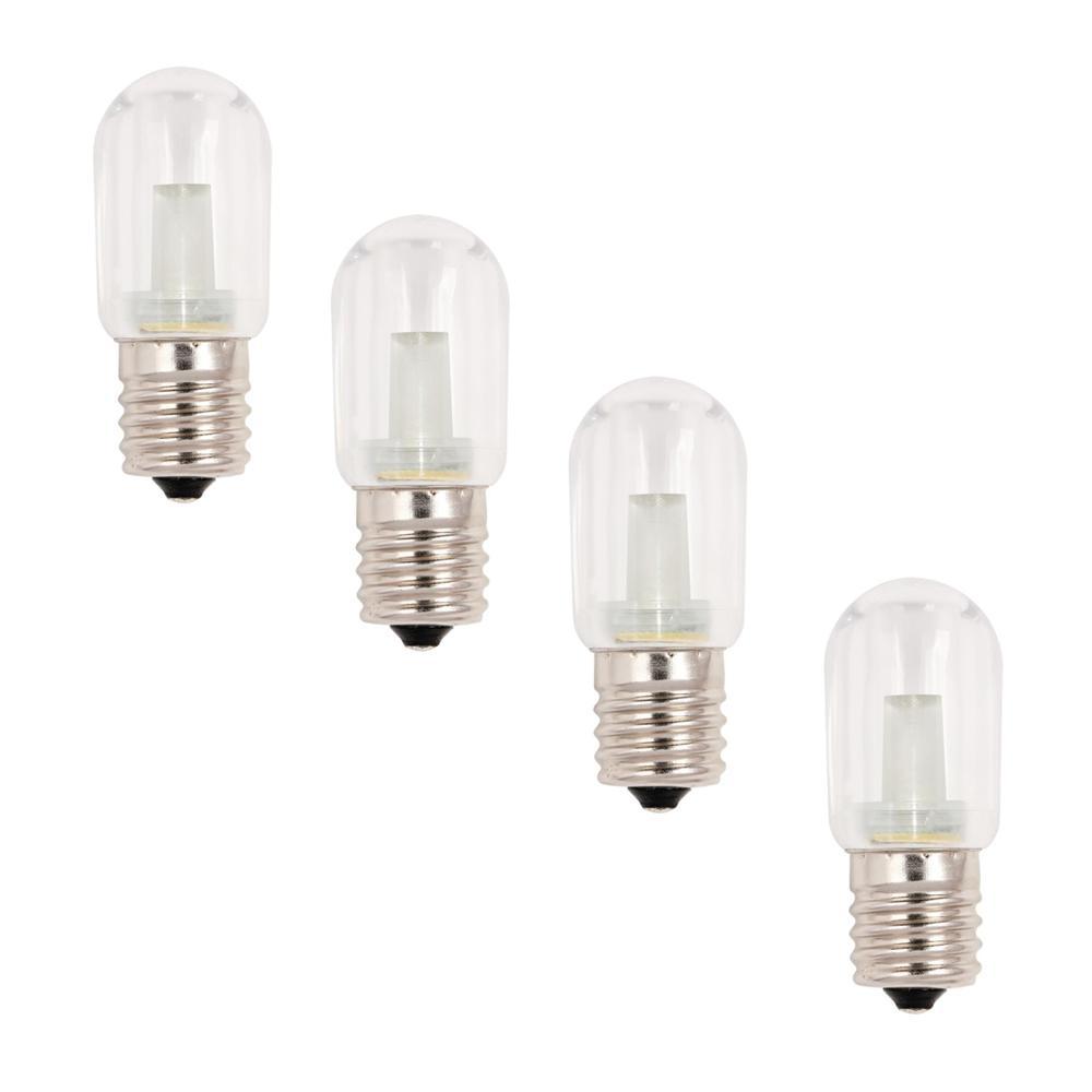 15W Equivalent Warm White T7 LED Light Bulb (4-Pack)