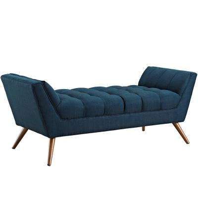Azure Response Medium Upholstered Fabric Bench