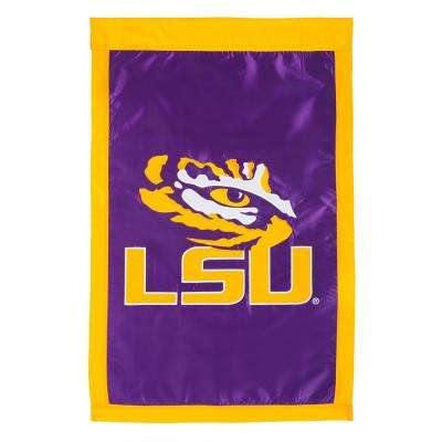 2.4 ft. x 3.6 ft. Louisiana State University Applique House Flag