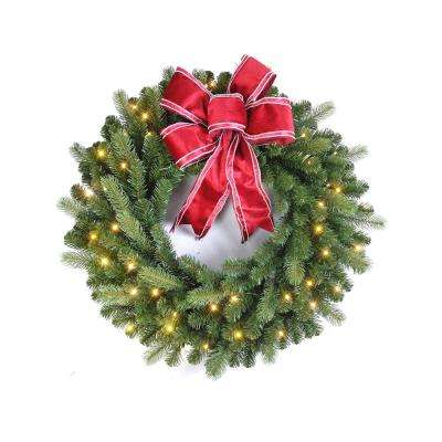 Free Shipping Christmas Wreaths Greenery The