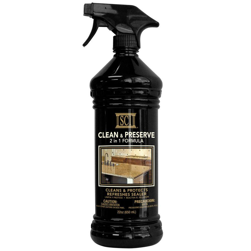 Sci 22 Oz Trigger Clean And Preserve Countertop Cleaner 5143 The Home Depot