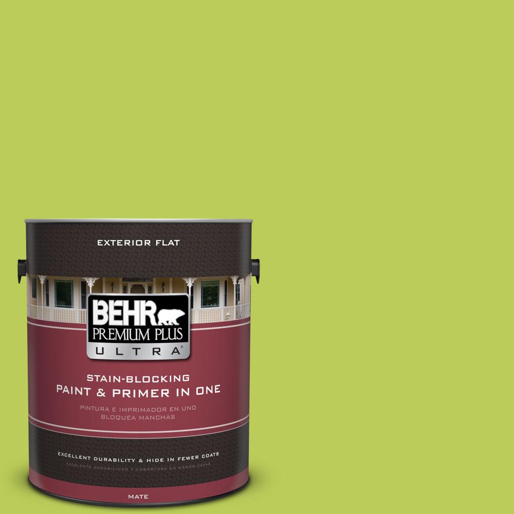1-gal. #410B-5 Hidden Meadow Flat Exterior Paint