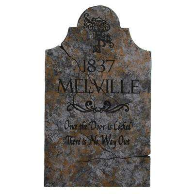 24 in. x 14 in. Halloween Yard Tombstone Melville