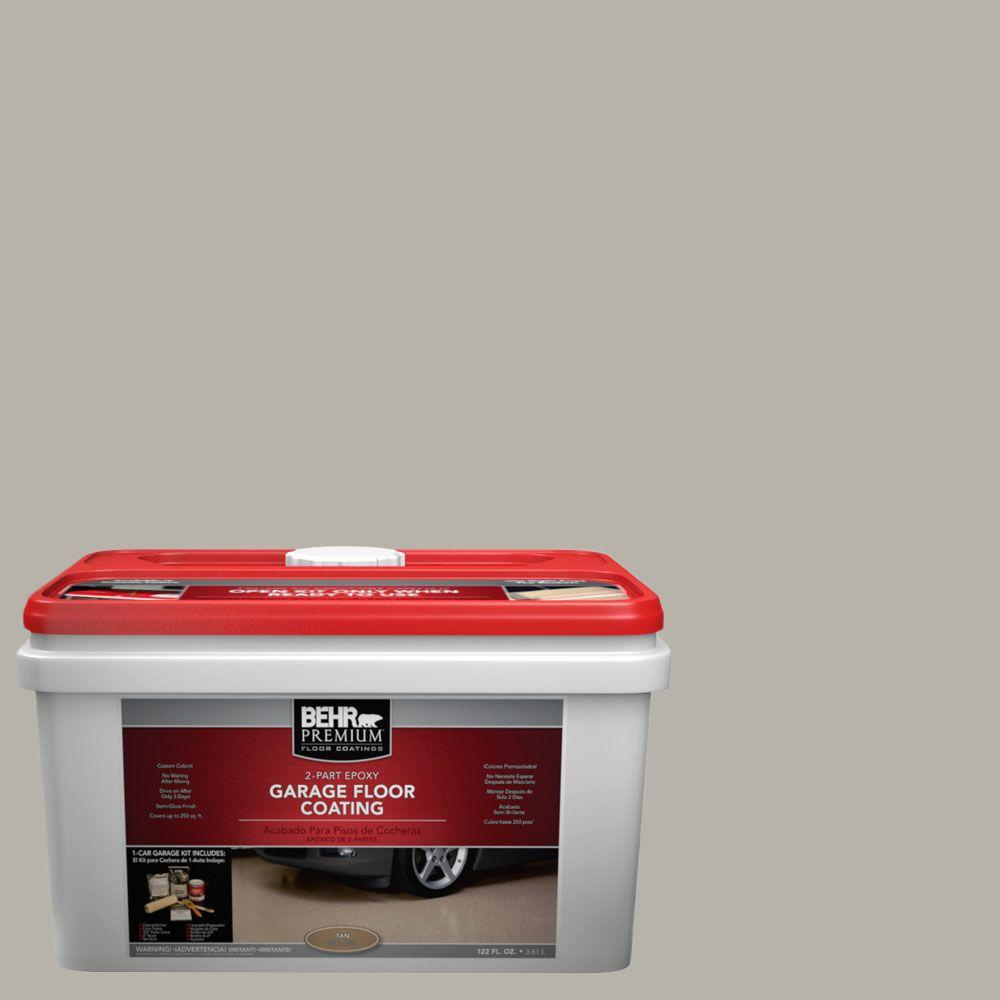 BEHR Premium 1-gal. #PFC-67 Mossy Gray 2-Part Epoxy Garage Floor Coating Kit