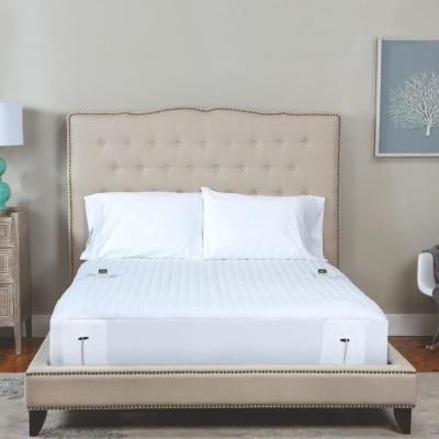 16 in. King Polyester Mattress Pad