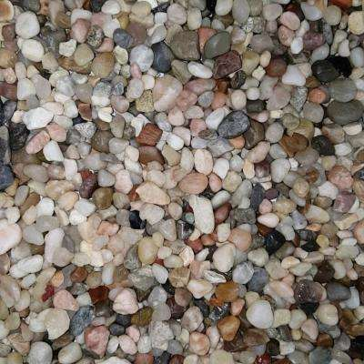 0.50 cu. ft. 40 lbs. 3/8 in. Montana River Decorative Landscaping Pebble (20-Bag Pallet)