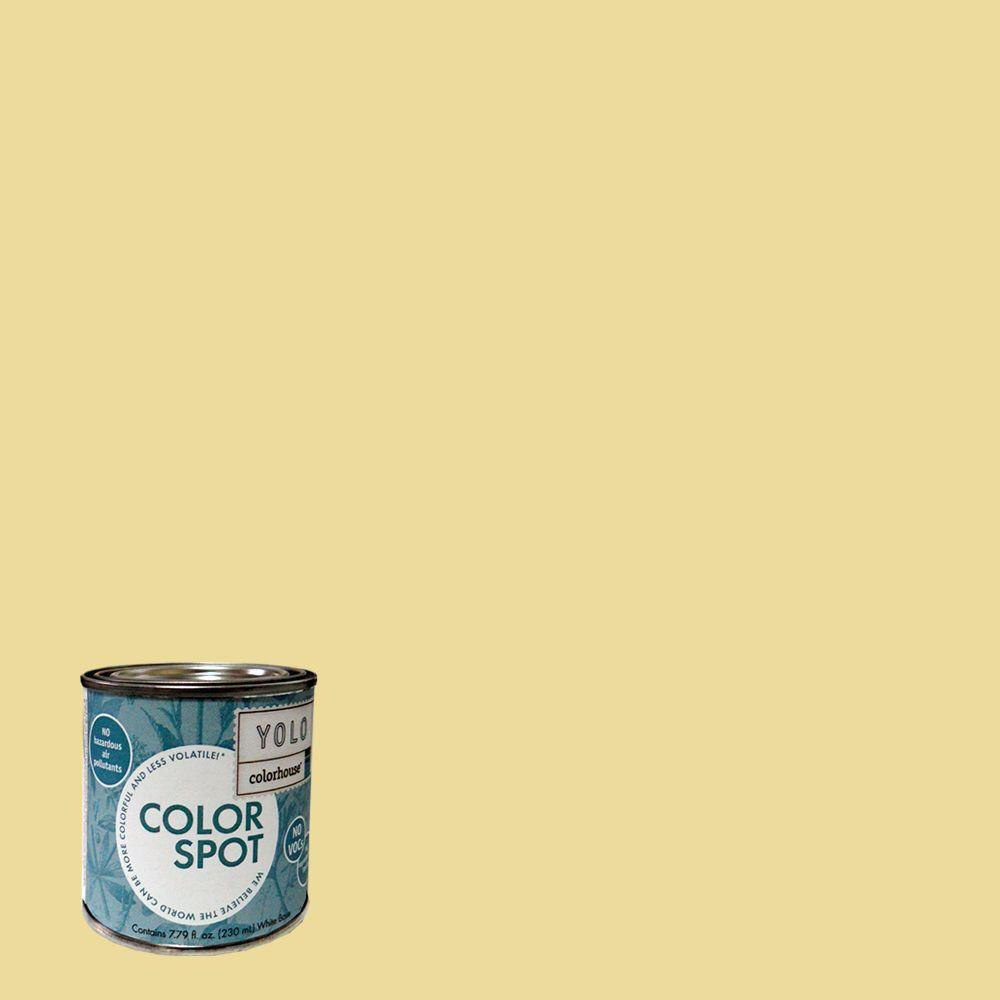 YOLO Colorhouse 8 oz. Aspire .03 ColorSpot Eggshell Interior Paint Sample-DISCONTINUED