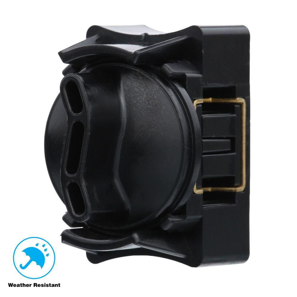 Fabulous Hampton Bay Low Voltage Black Cable Splice Connector Hd28351 The Wiring Digital Resources Caliashwinbiharinl