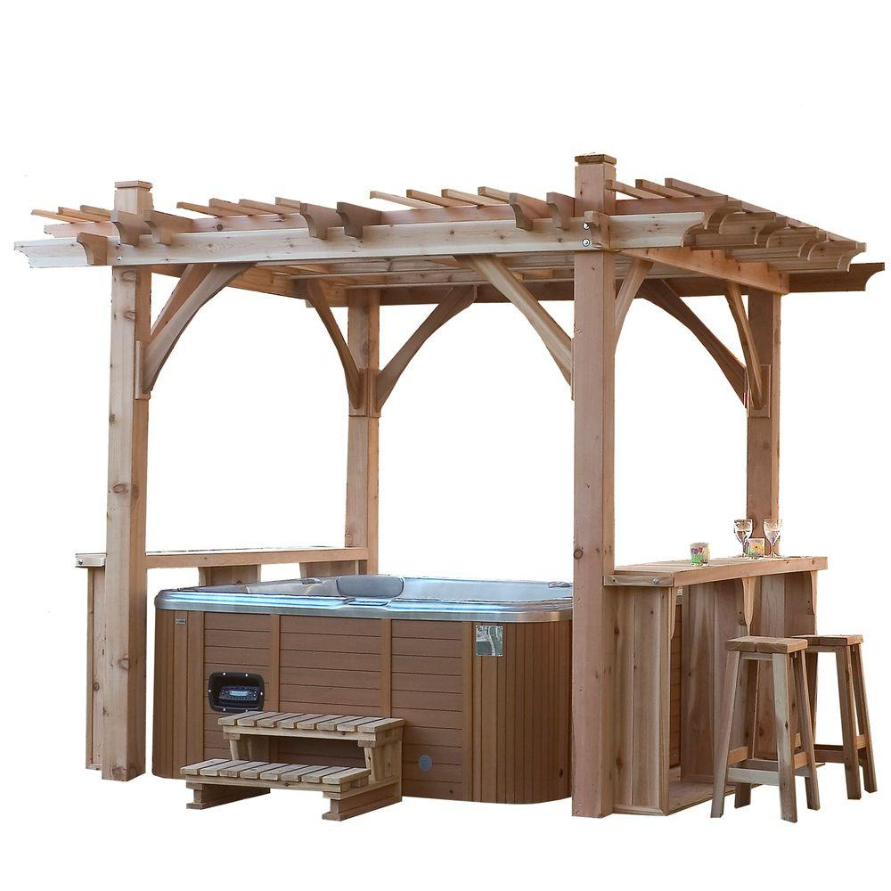 Outdoor Living Today Spa Breeze Shelter 11 Ft X 9