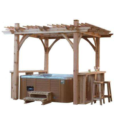 Spa Breeze Shelter 11 ft. x 9 ft. Pergola