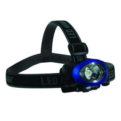 3 Watt LED High-Intensity Headlight, Blue