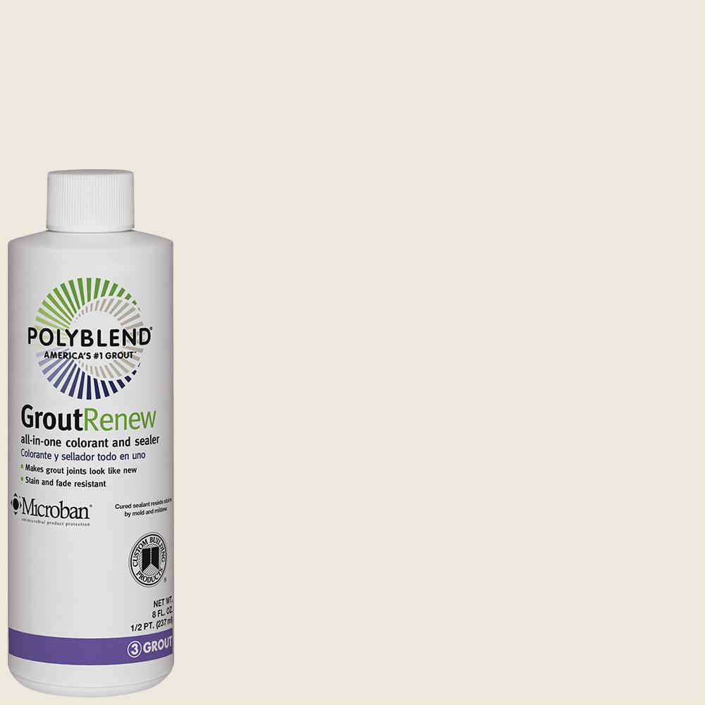Custom Building Products Polyblend #381 Bright White 8 oz. Grout Renew Colorant