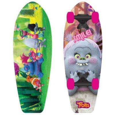 Trolls 21 in. Wood Cruiser Skateboard