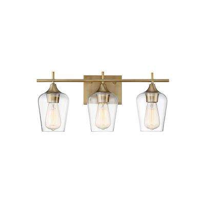 Brass - Vanity Lighting - Lighting - The Home Depot
