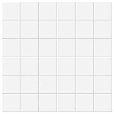 Permatones Glacier 12 in. x 12 in. x 8 mm Ceramic Mosaic Tile