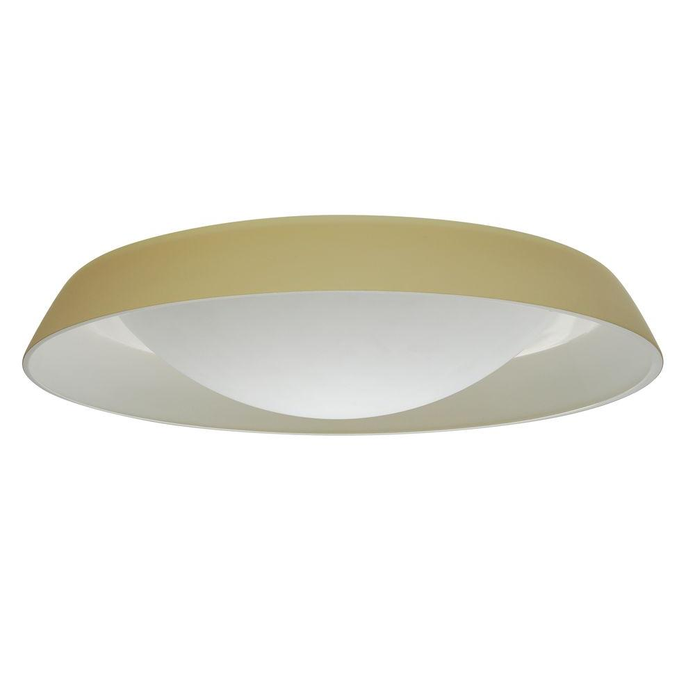 Illumine 2-Light Ceiling Mount Fixture Vanilla Matte Glass-DISCONTINUED