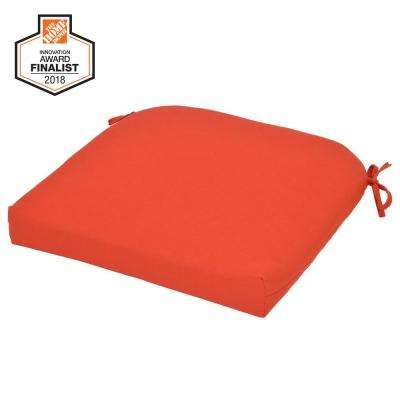 CushionGuard Ruby Square Outdoor Seat Cushion