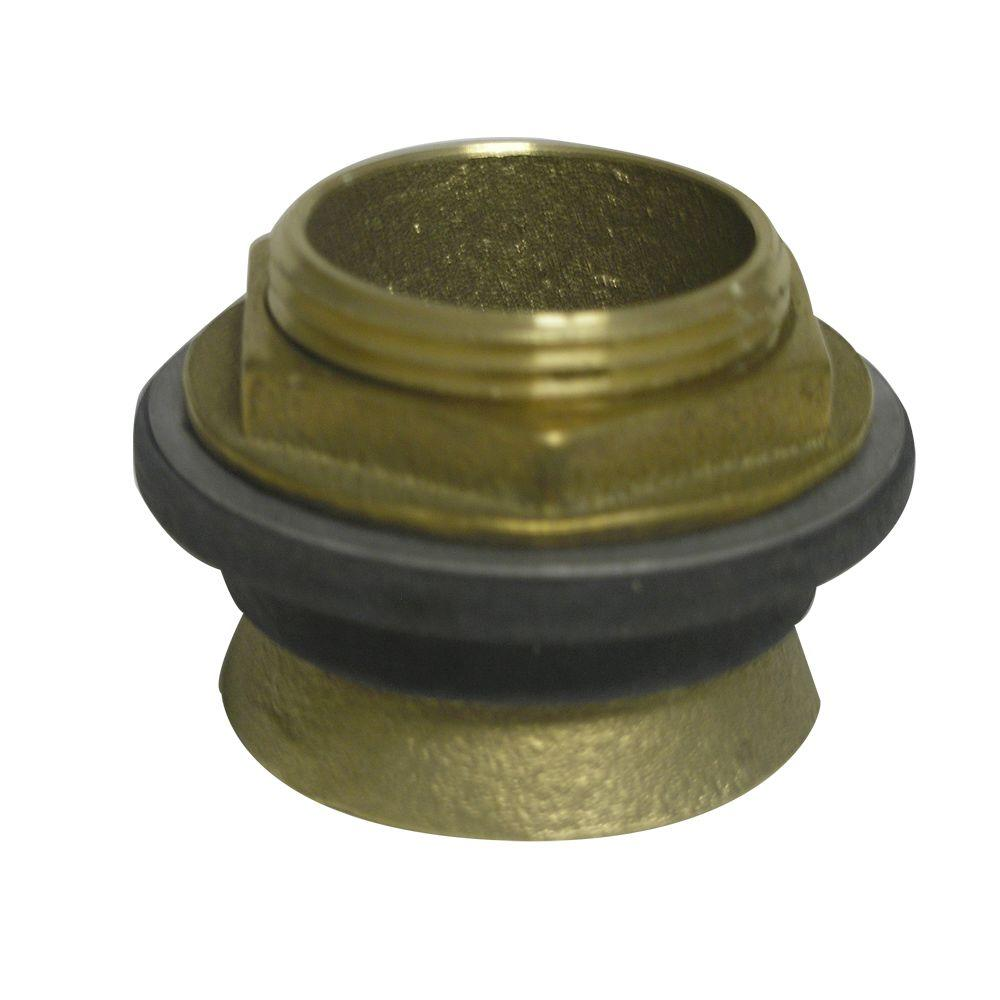 1.5 in. Brass Inlet Spud for Toilet and Urinal