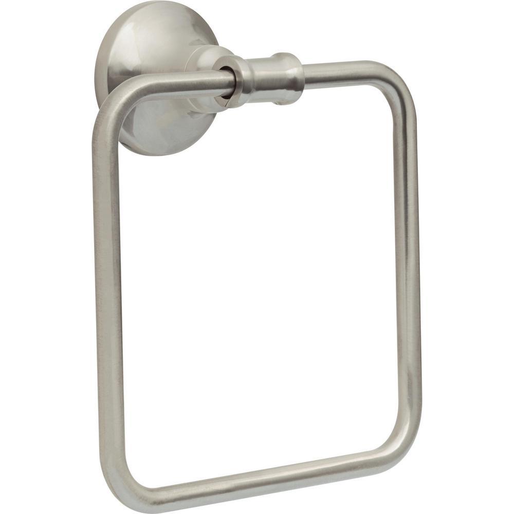 Chamberlain Towel Ring SpotShield in Brushed Nickel