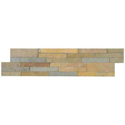 Salvador Vanilla Ledger Panel 6 in. x 24 in. Natural Limestone Wall Tile (10 cases / 80 sq. ft. / pallet)