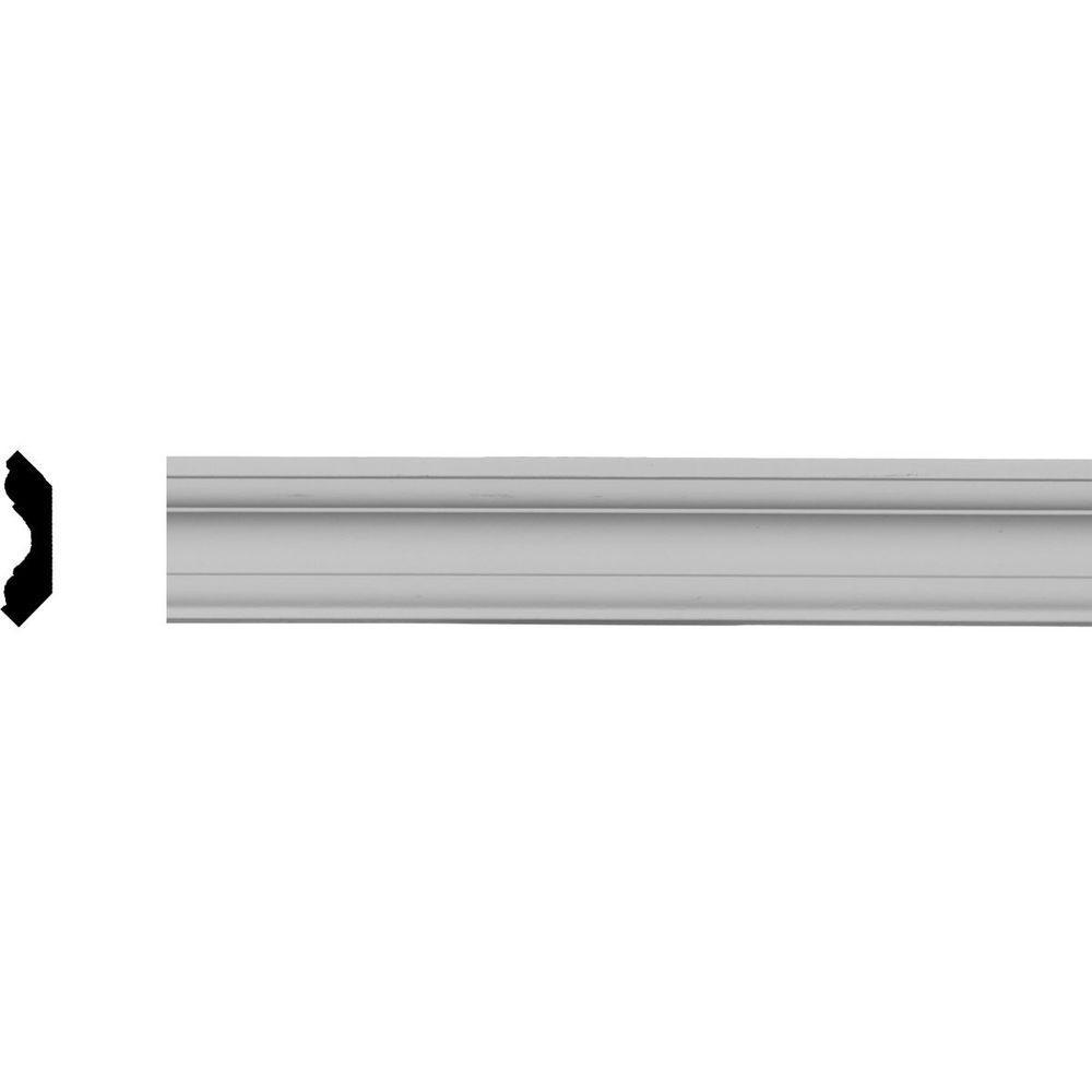 1-3/4 in. x 1-3/4 in. x 94-1/2 in. Polyurethane Edinburgh Traditional