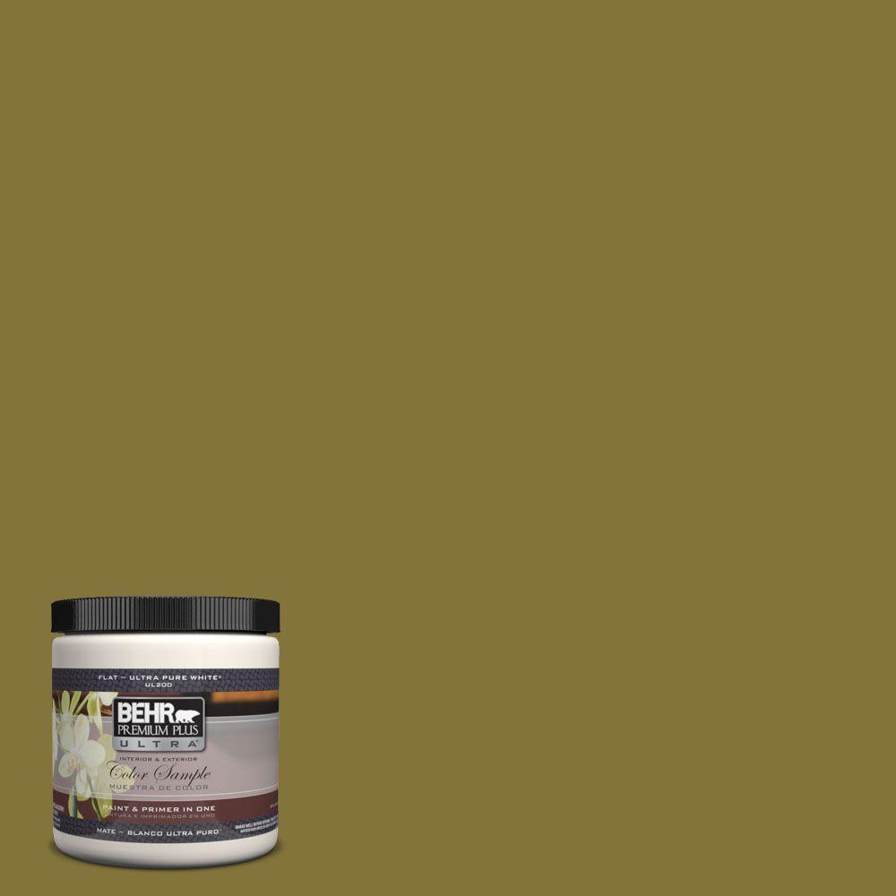 8 oz. #390D-7 Marsh Grass Interior/Exterior Paint Sample