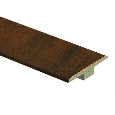 Antique Cherry 7/16 in. Thick x 1-3/4 in. Wide x 72 in. Length Laminate T-Molding
