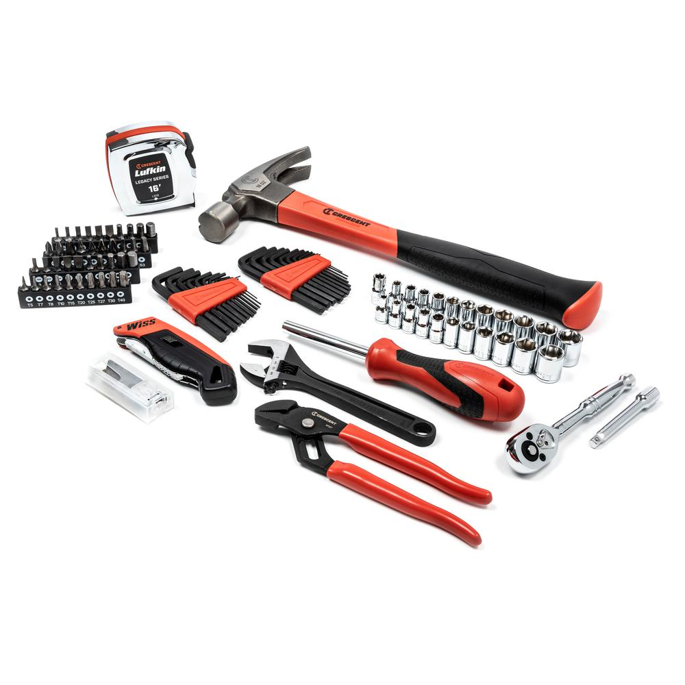 Crescent Crescent 1/4 in. Drive General Purpose Tool Set (99-Piece)