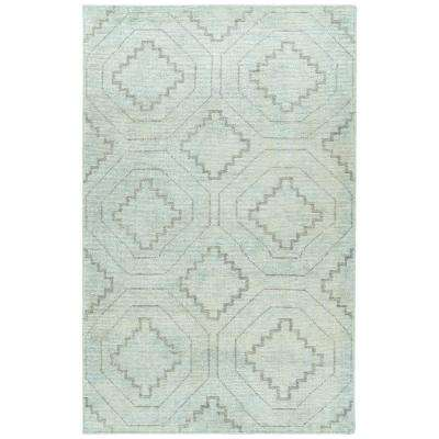 Solitaire Glacier 9 ft. 6 in x 13 ft. Area Rug