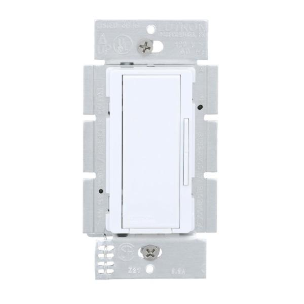 Lutron Maestro Companion Multi Location Dimmer White Ma R Wh The Home Depot