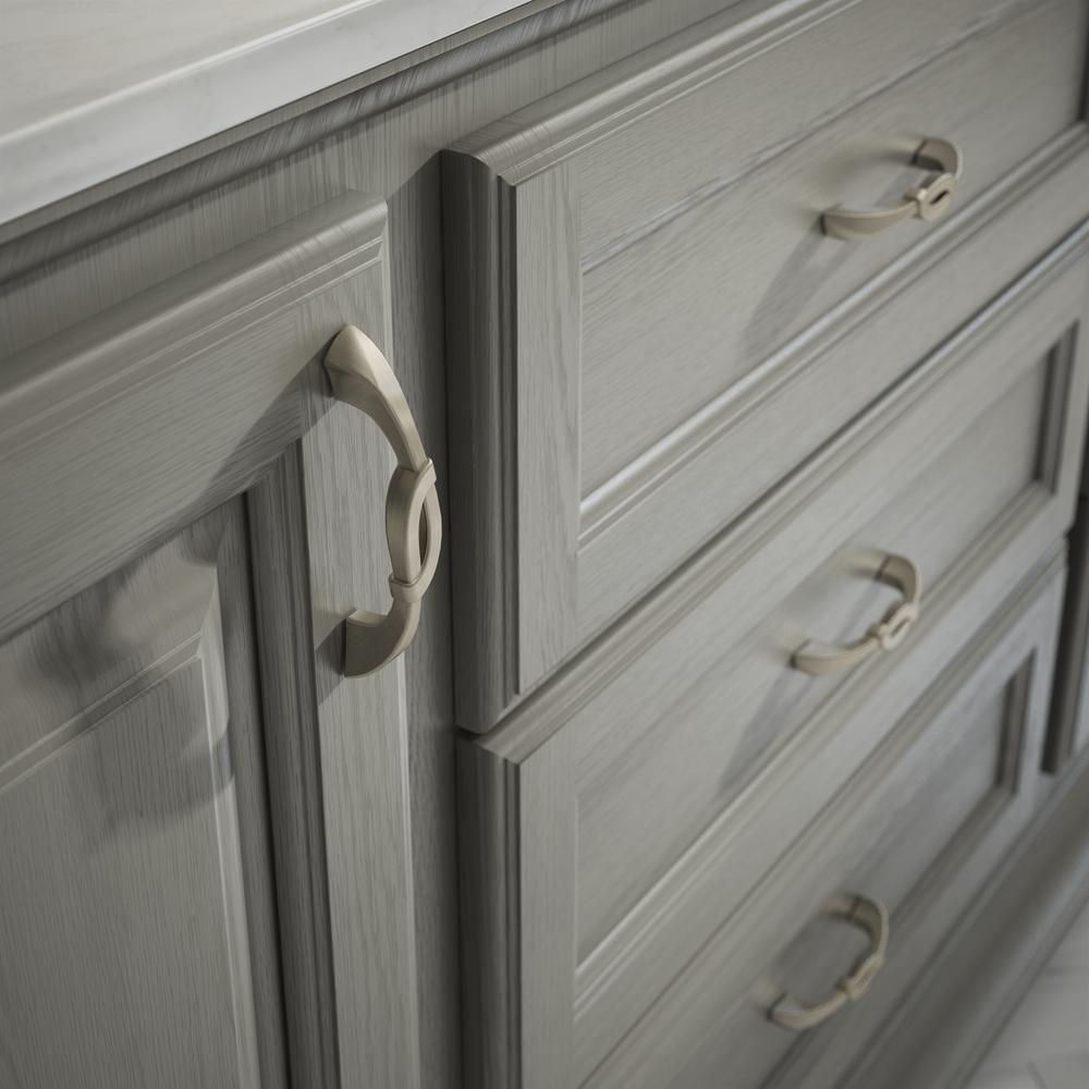 2 Cup Drawer Pulls Cabinet Handle Cupboard Knob Kitchen Cocoa Bronze Copper Trim