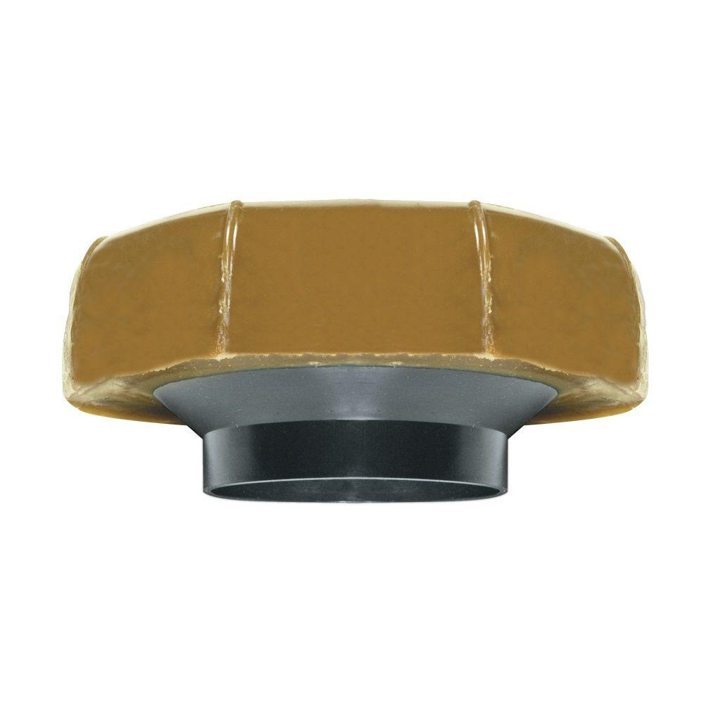 Fluidmaster Extra Thick Wax Toilet Bowl Gasket with Flange