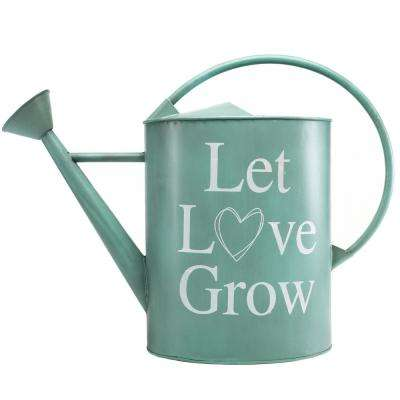 2 Gal. Vintage Teal Watering Can