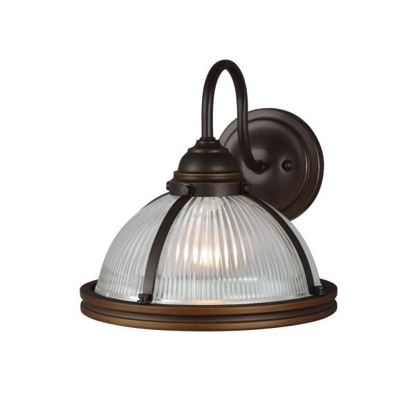 Pratt Street Sconces 1-Light Autumn Bronze Wall Sconce