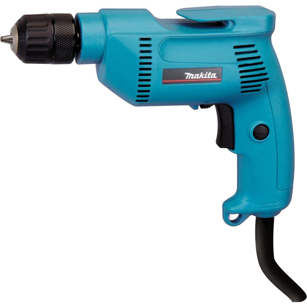 Makita 4.9 Amp 3/8 in. Drill with Keyless Chuck