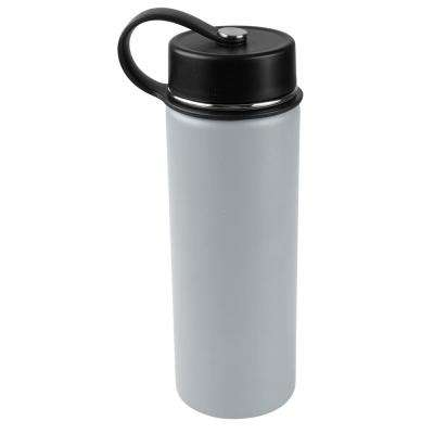 30 oz. Charcoal Gray Vacuum Insulated Stainless Steel Water Bottle (2-Pack)