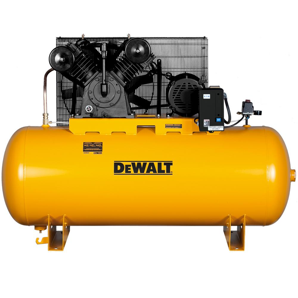 120 gal 2stage electric air compressor