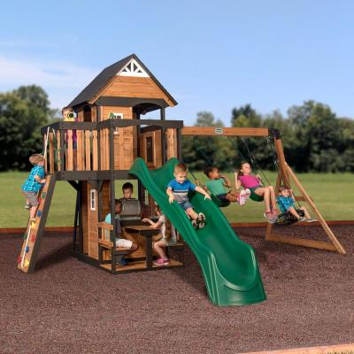 Canyon Creek All Cedar Swing Set