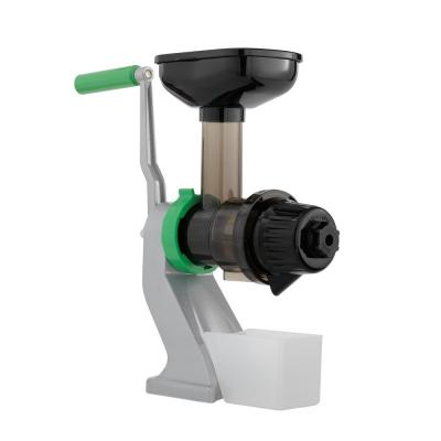 Z-Star Green and Silver Manual Juicer