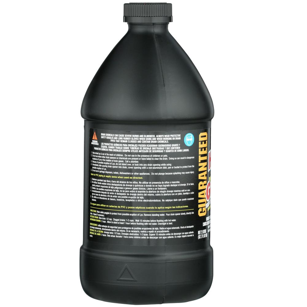 Instant Power 67 6 Oz Hair And Grease Drain Cleaner 1970 The Home Depot