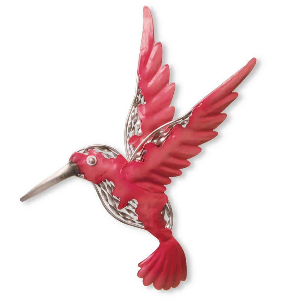 National Tree Company Wall Decoration-Pink Bird