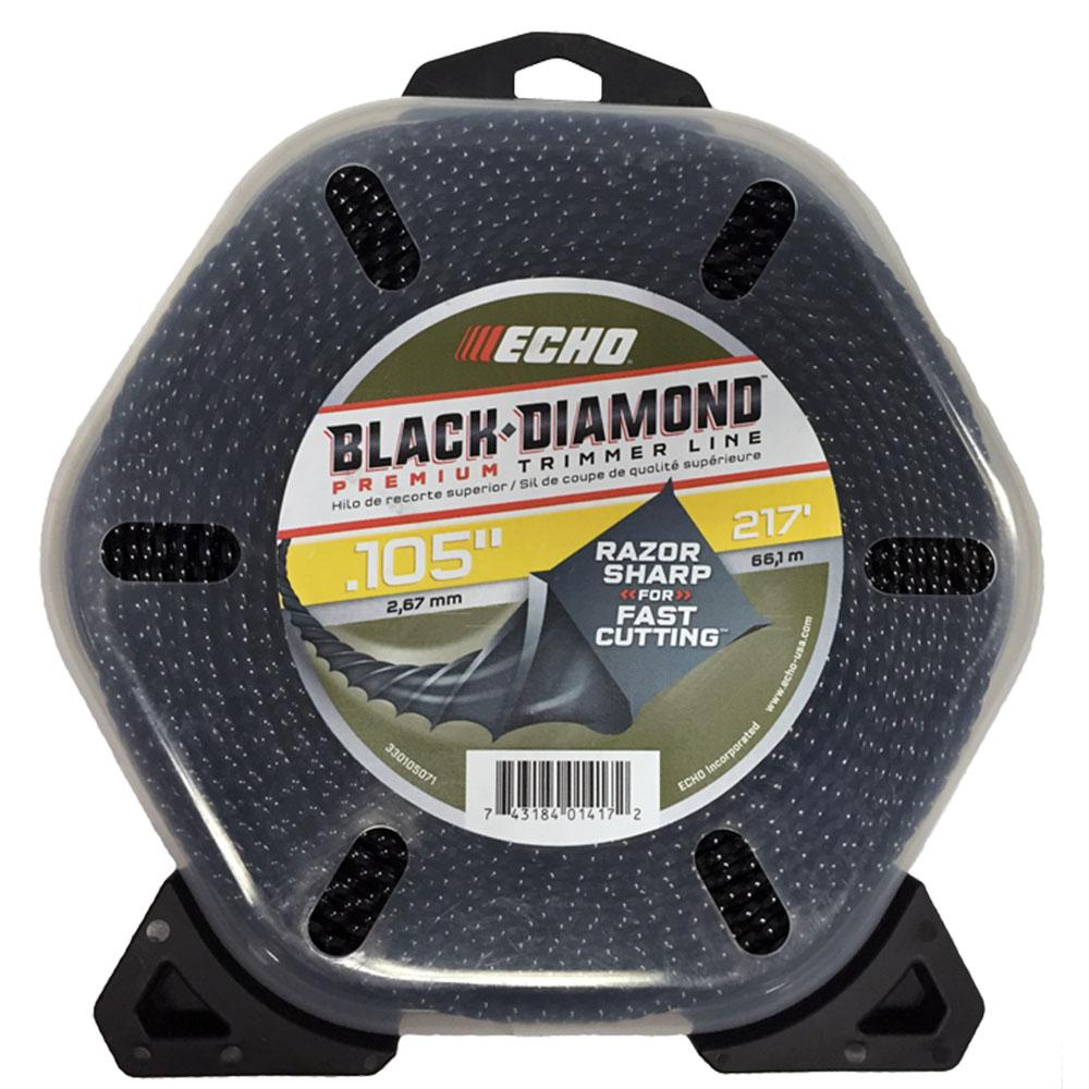 ".105"" Black Diamond Trimmer Line (217 ft.) Large Clam"
