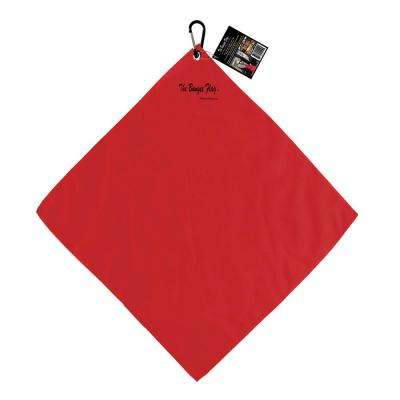 18 in. x 18 in. Reusable Safety Load Flag with Carabiner