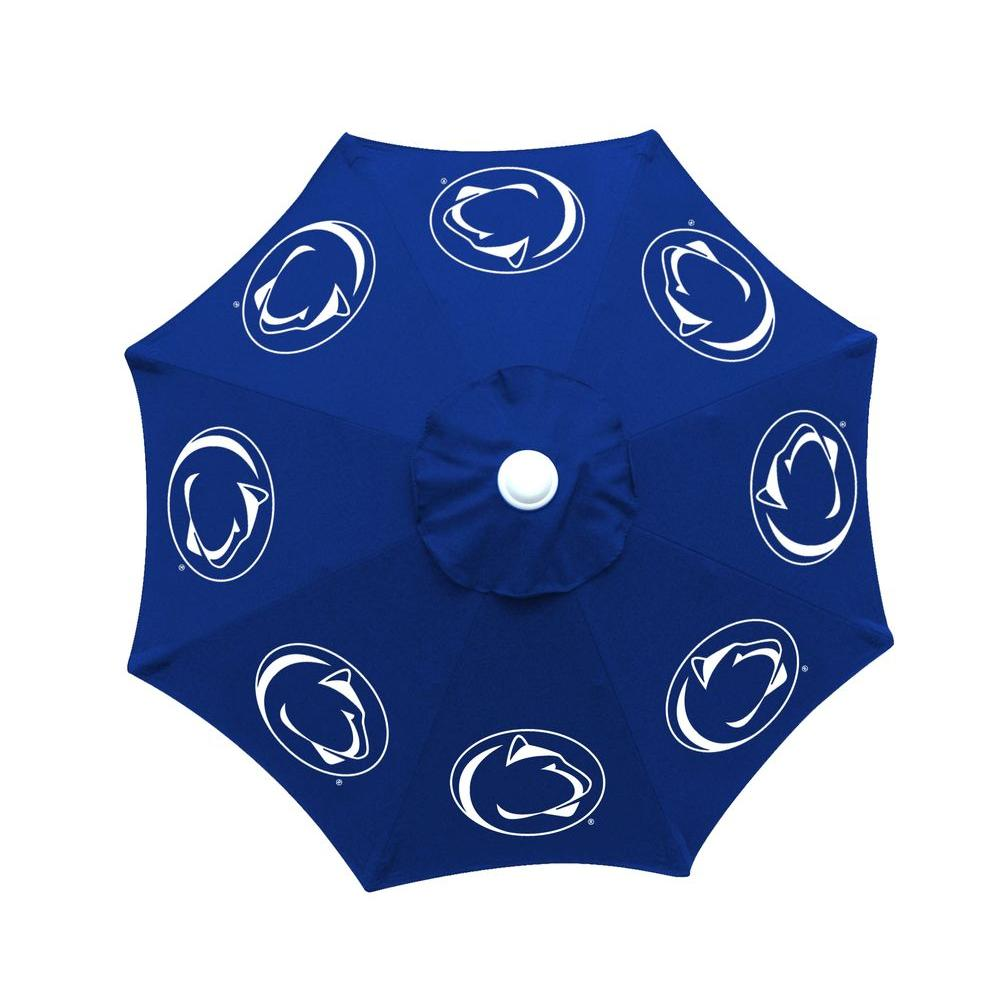 null 9 ft. Penn State University Blue Patio Umbrella