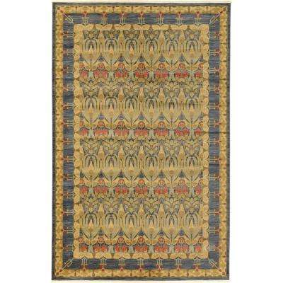 Heritage Navy Blue 10 ft. 6 in. x 16 ft. 5 in. Area Rug
