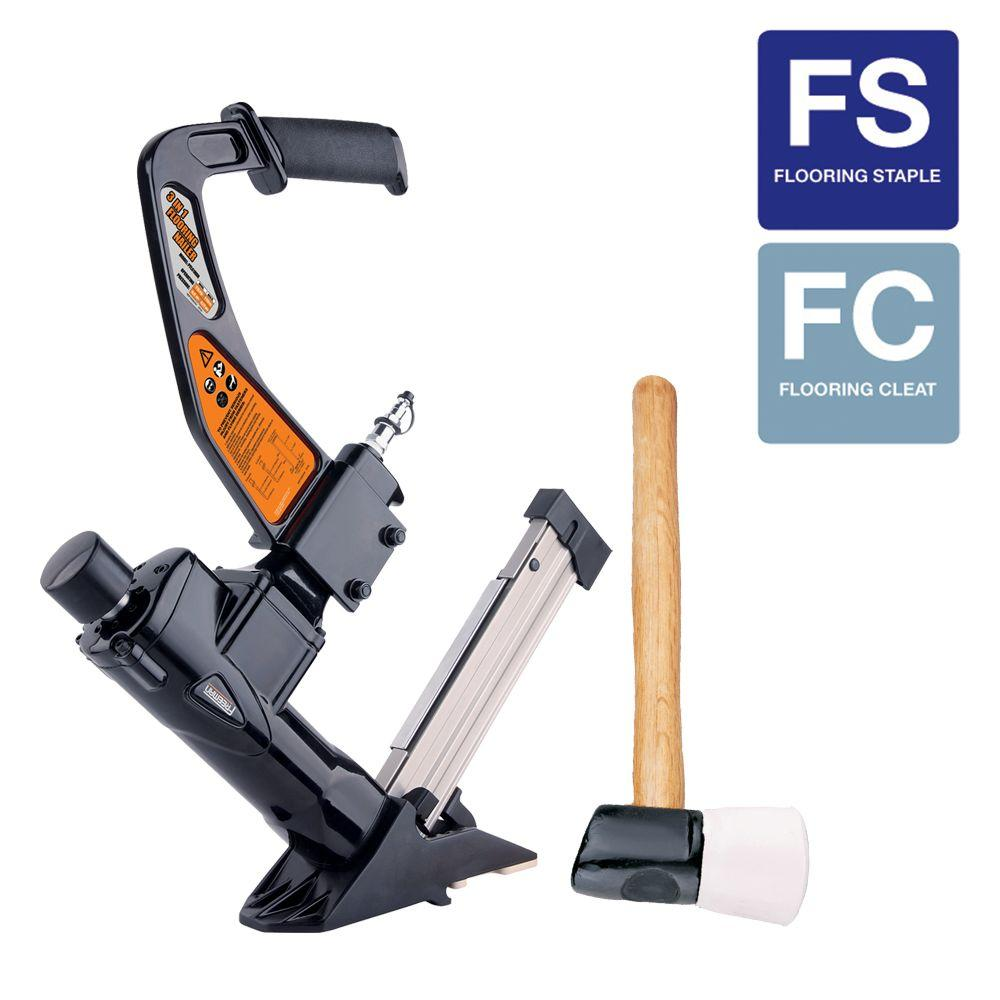 Freeman Reconditioned Pneumatic 3-in-1 Class A Flooring Nailer and Stapler-DISCONTINUED